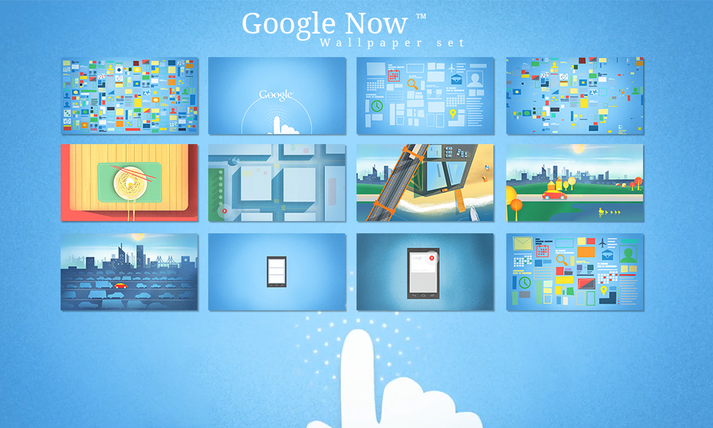 Google Now Wallpaper set by jkolliyil 1000x600