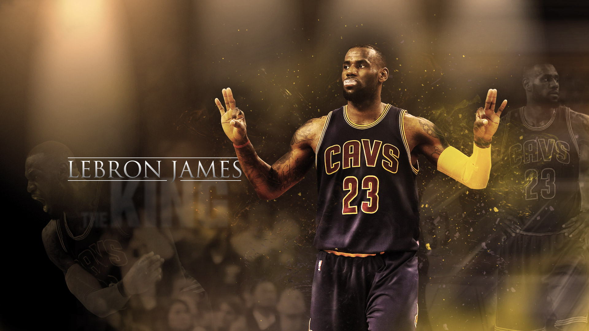 LeBron James Cavaliers 2016 19201080 Wallpaper Basketball 1920x1080