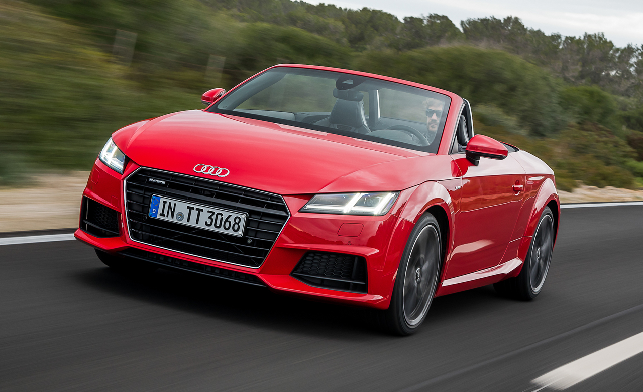 Audi TT RS Roadster HD Wallpapers Full HD Pictures 1280x782