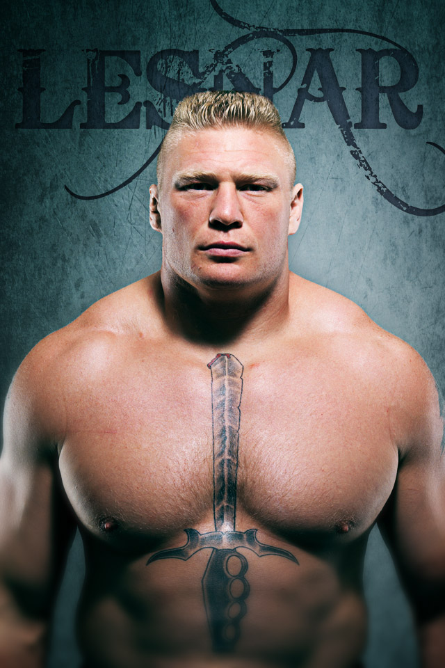 UFC and MMA fans get this Brock Lesnar wallpaper for your iphone 640x960