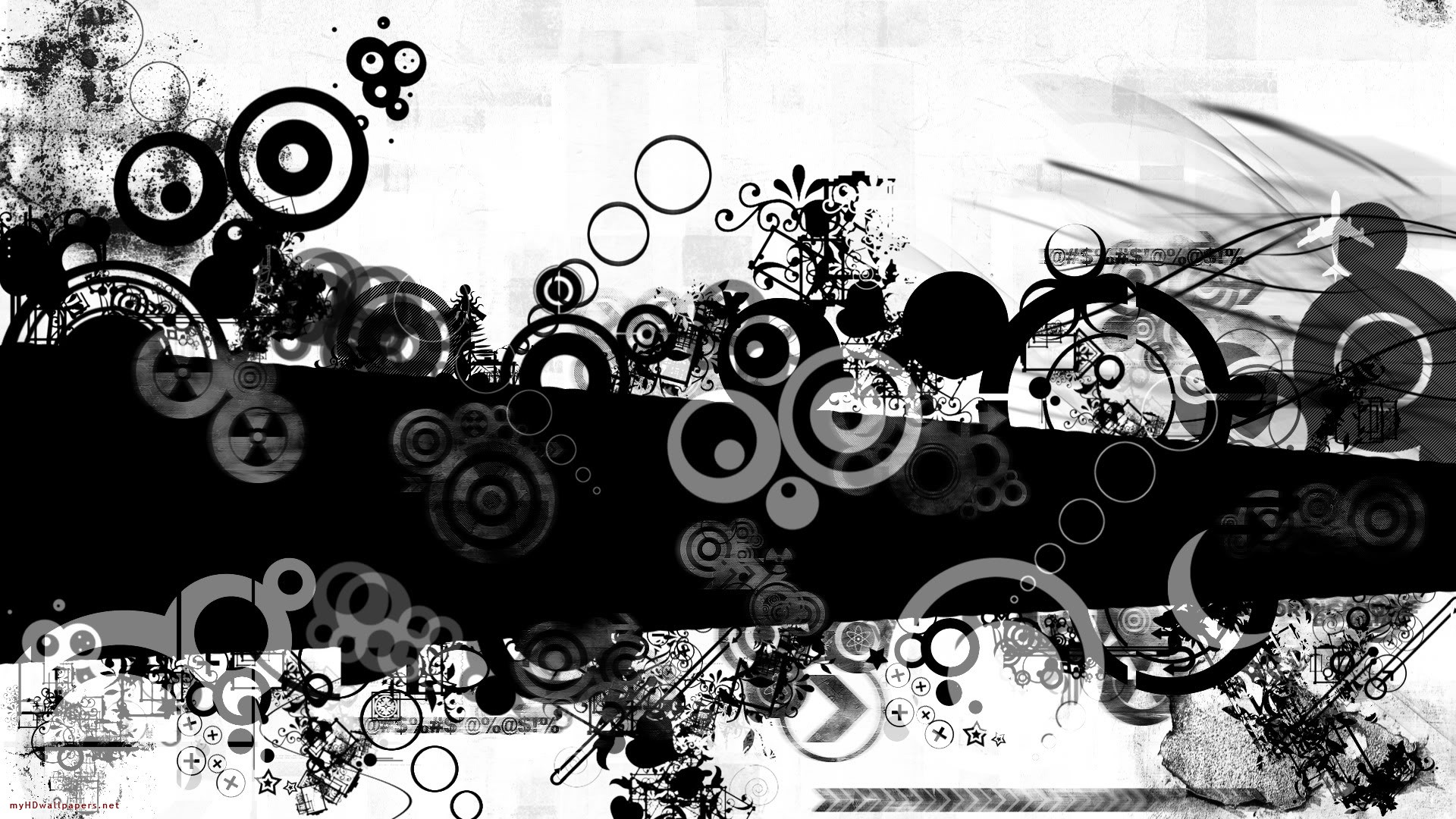 the best black and white desktop wallpapers that you can set up on 1920x1080