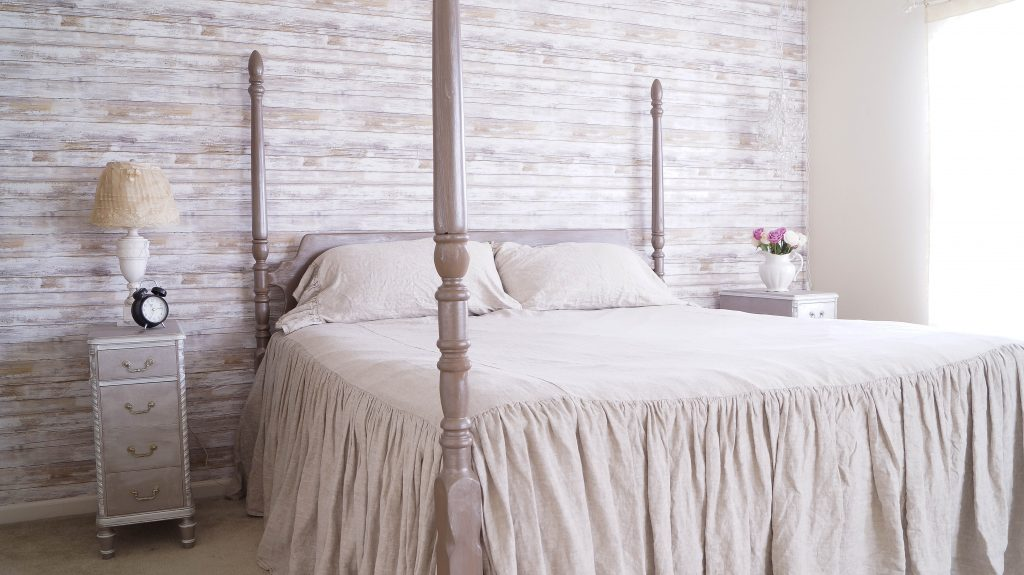 How To Hang Peel And Stick Wallpaper   White Lace Cottage 1024x575