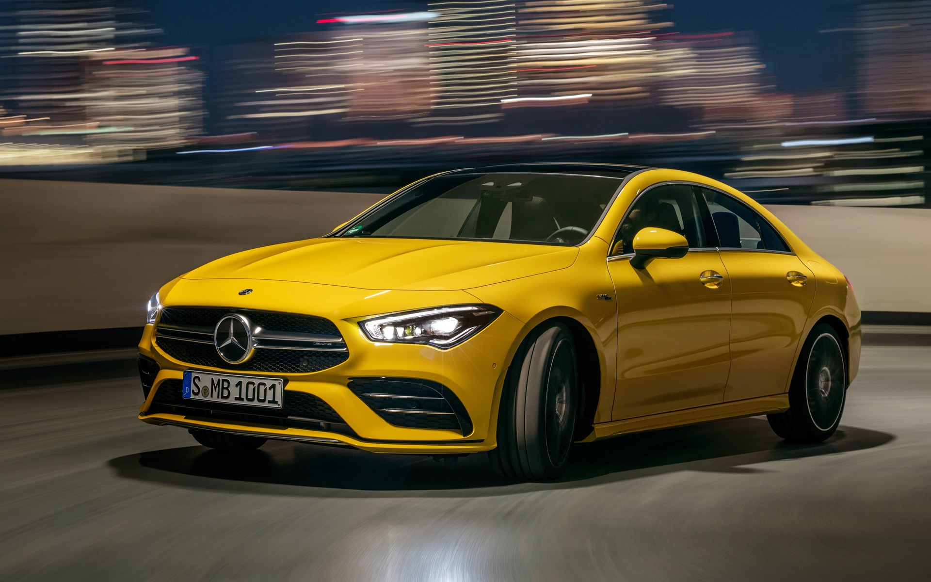 After the Mercedes AMG A 35 heres the 2020 CLA 35   The Car Guide 1920x1200