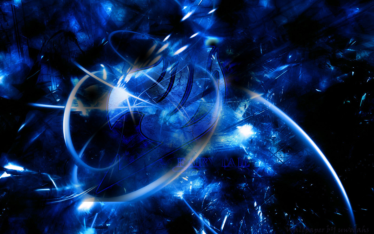 Blue Fairy Tail hd wallpaper in Abstract 1440x900