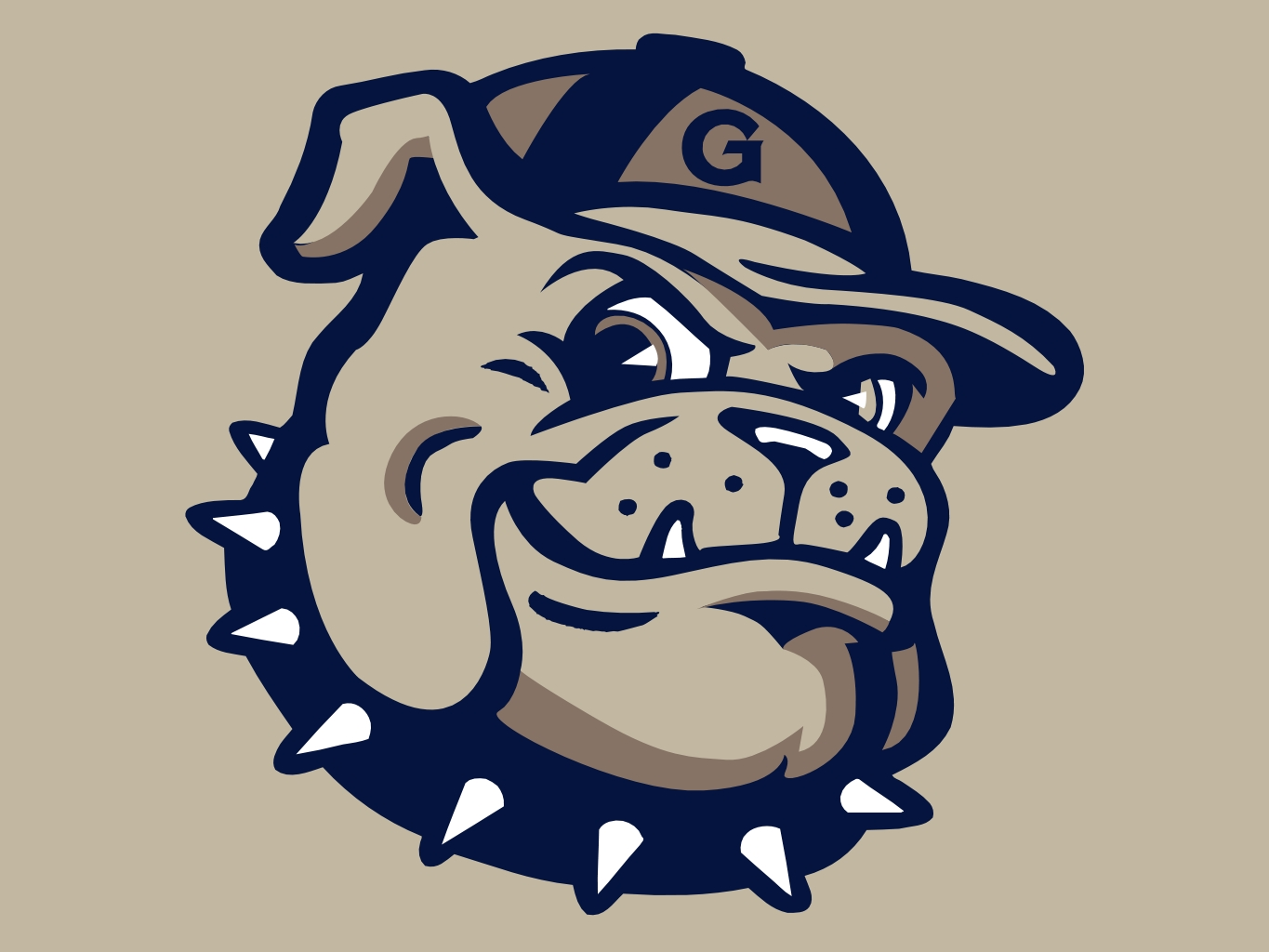 Georgetown Hoyas Logo is the sports team logo for Georgetown 1365x1024