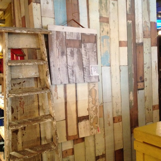 Fun wallpaper that looks like battered old planks of wood   My Style. Old Wood Plank Wallpaper   WallpaperSafari