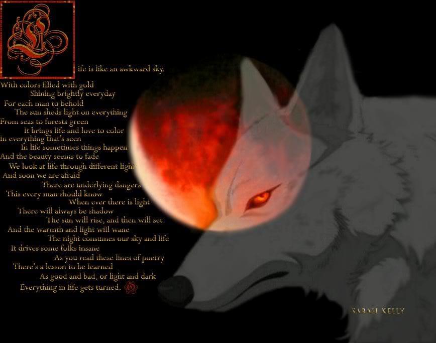 Werewolf Wallpapers   Nightmare Variations 868x683