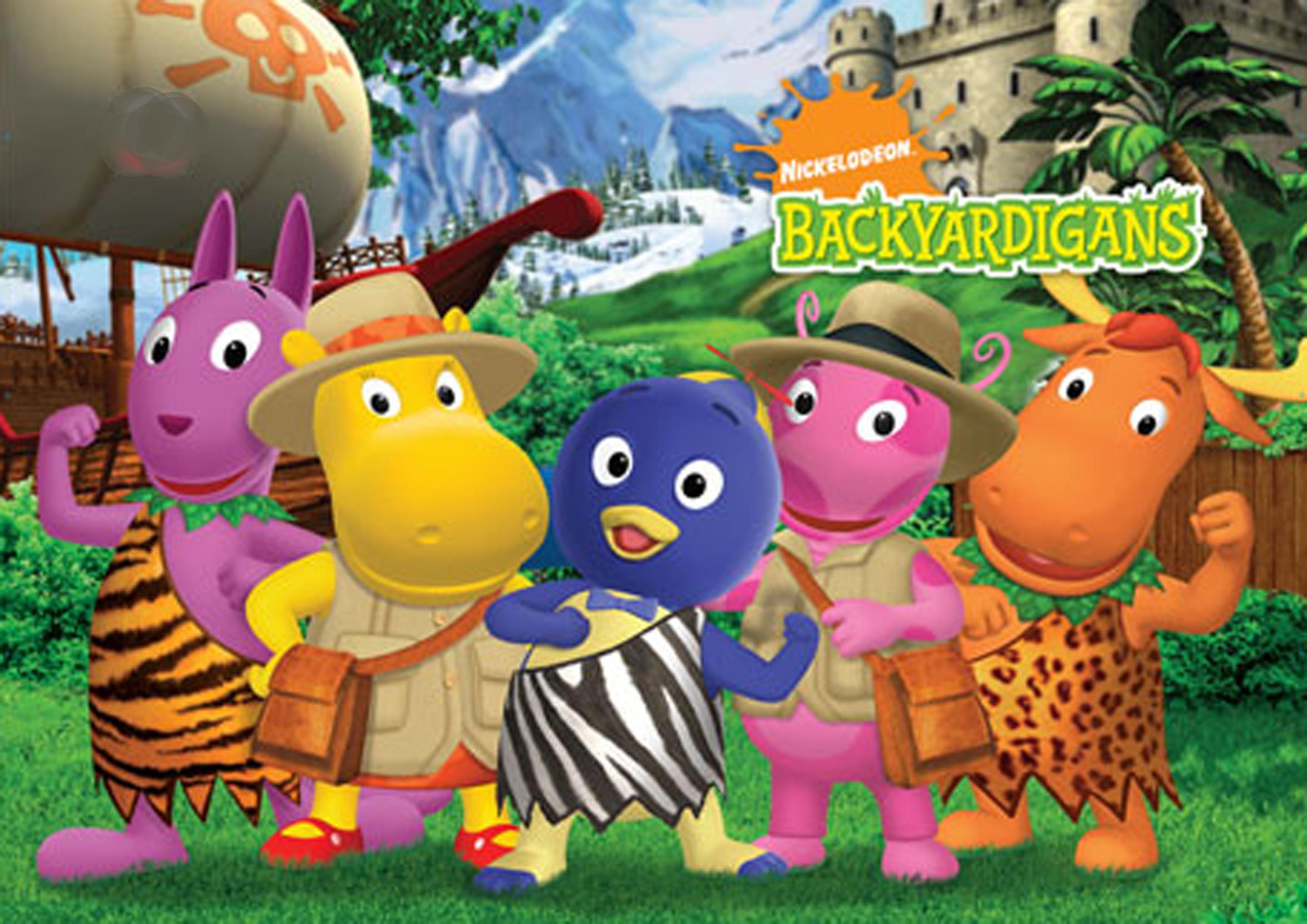 16] The Backyardigans Wallpapers on WallpaperSafari 3506x2479