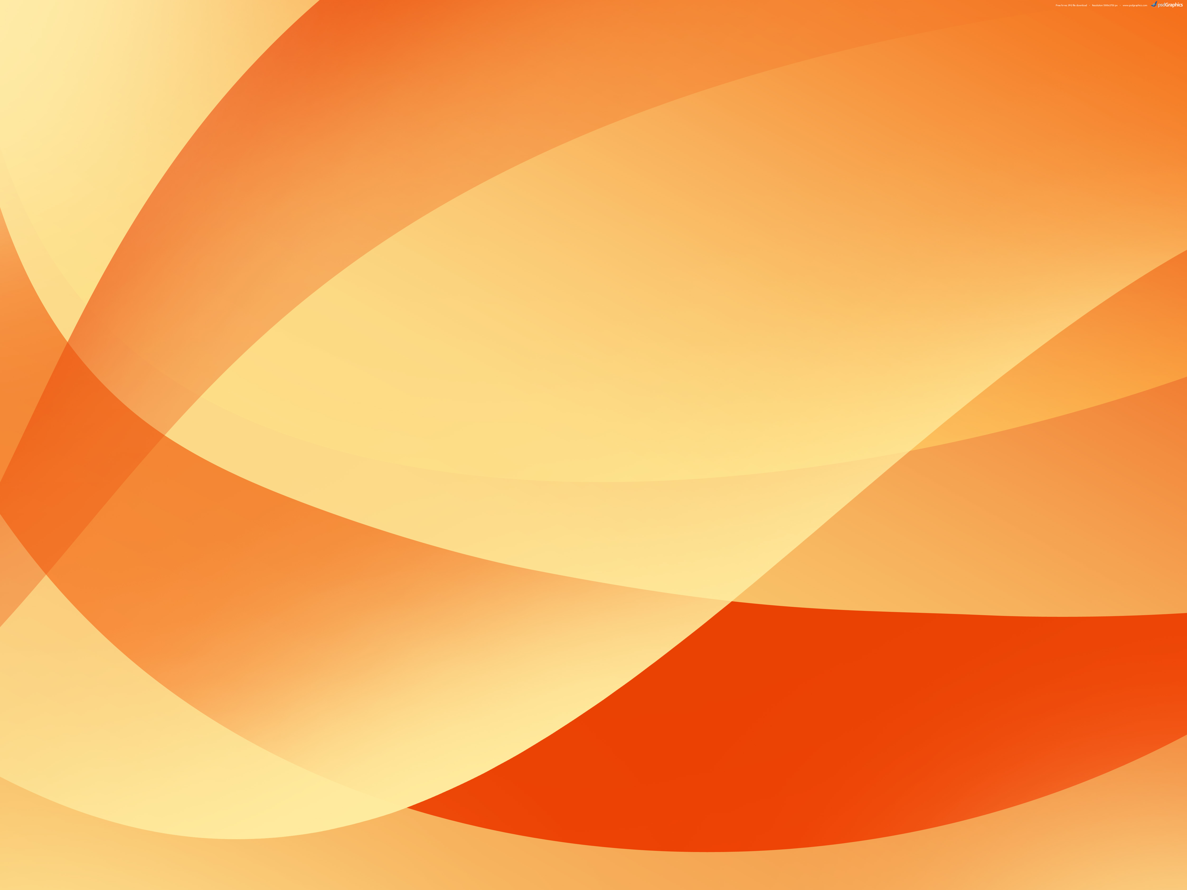 Orange background 5000x3750