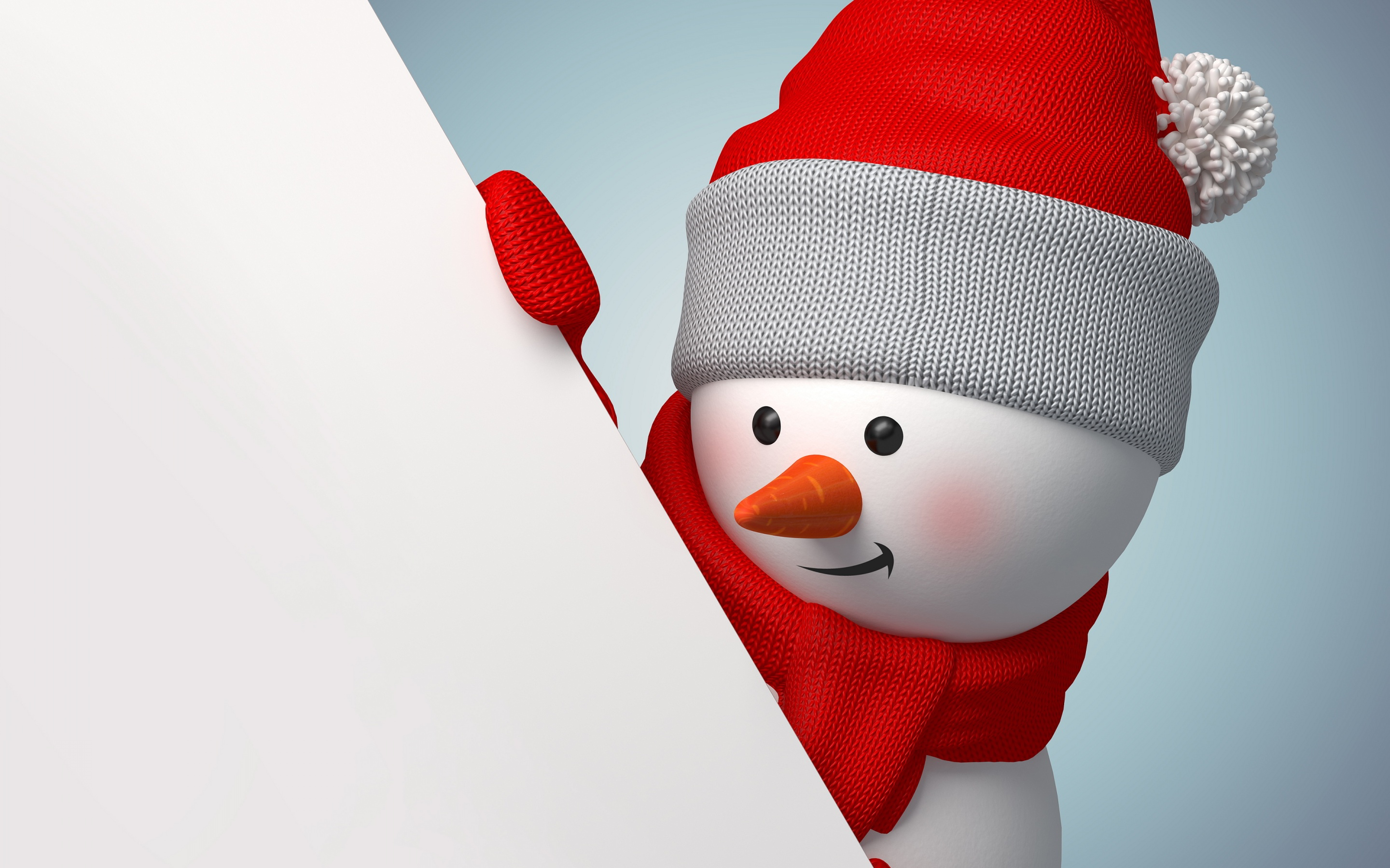 Snowman Wallpapers Download 2880x1800