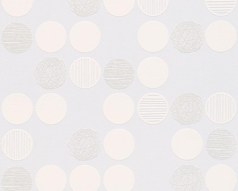 white and silver circle wallpaper wallpapersafari. Black Bedroom Furniture Sets. Home Design Ideas