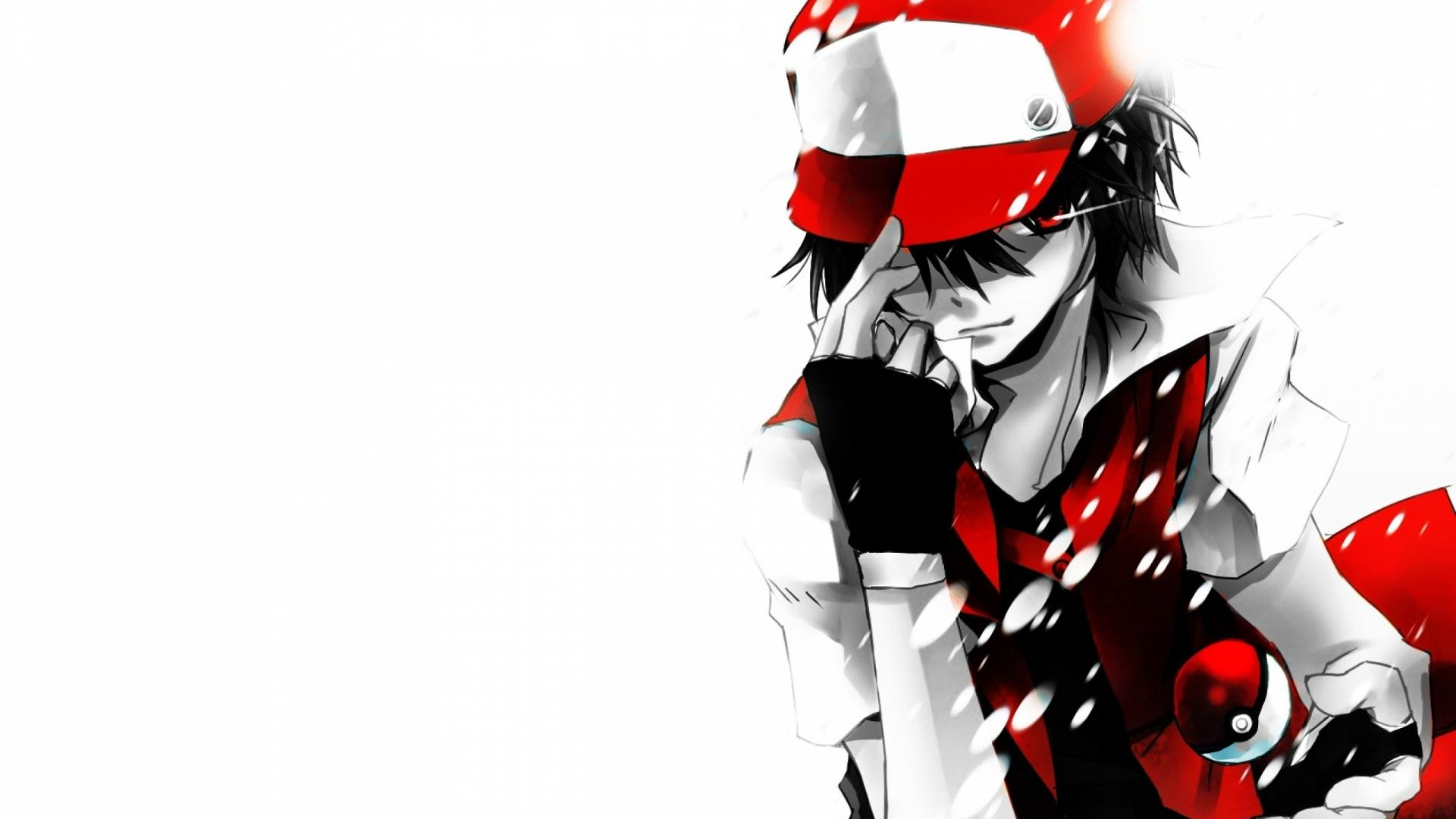 Download Red Pokemon Ash Wallpaper 1920x1080 Full HD Wallpapers 1920x1080