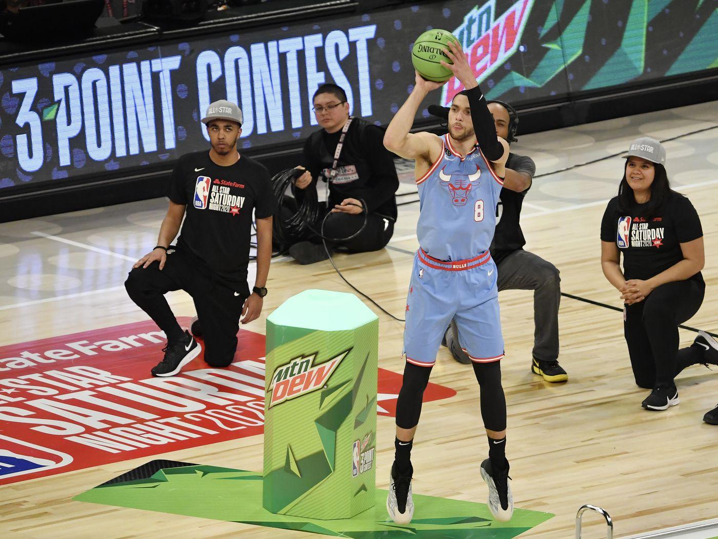Bulls Zach LaVine fails to advance in 3 Point Contest   Blog a Bull 1400x1050