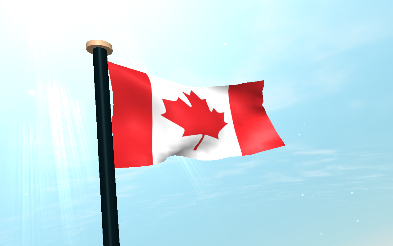Canada Flag 3D Wallpaper   Android Apps on Google Play 1280x800