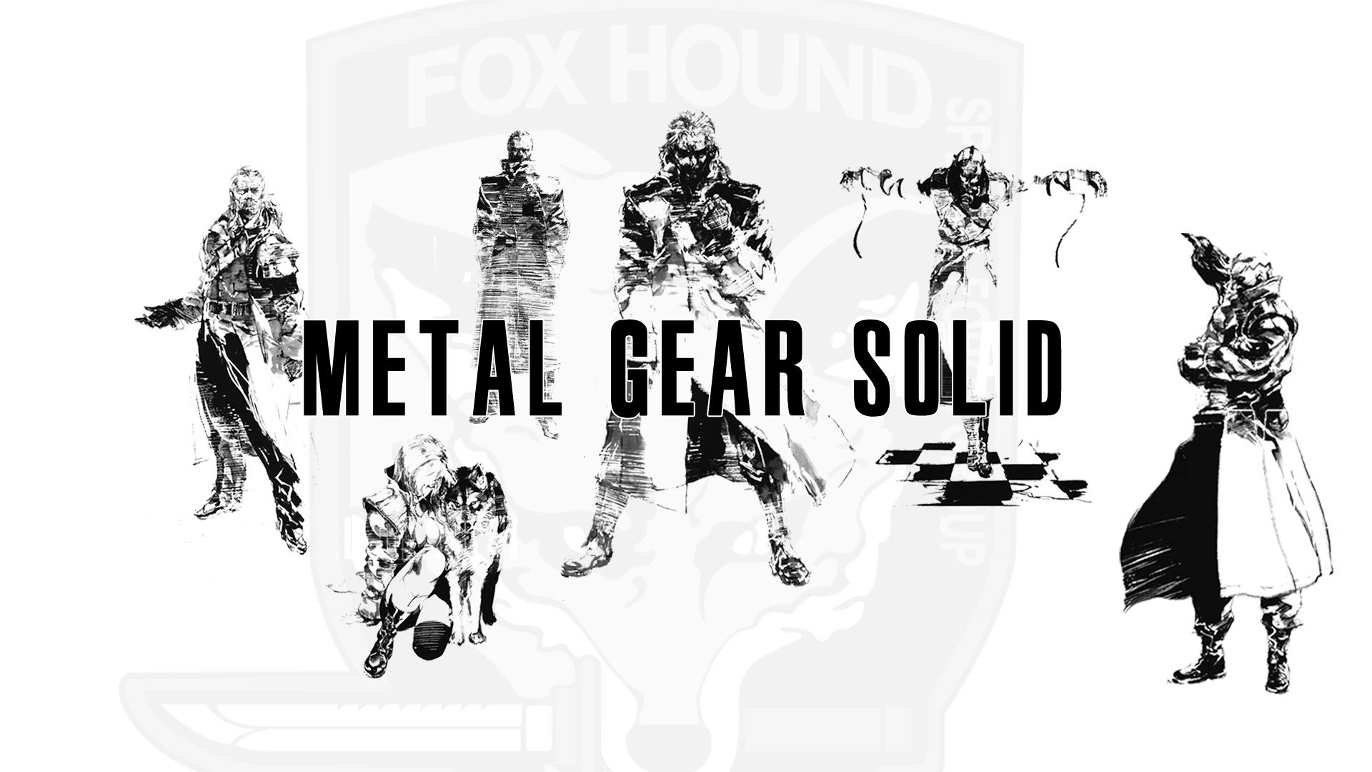 Foxhound metal gear solid wallpaper Wallpaper Wide HD 1920x1080