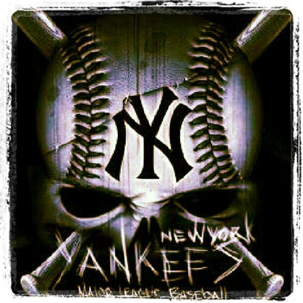 new york yankees logo iphone wallpaper