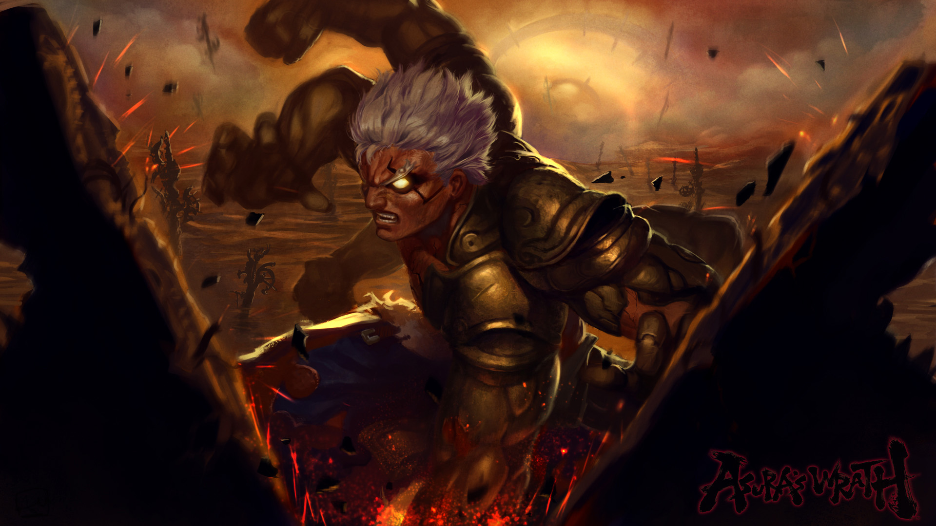 Asuras Wrath HD Wallpapers and Background Images   stmednet 1920x1080