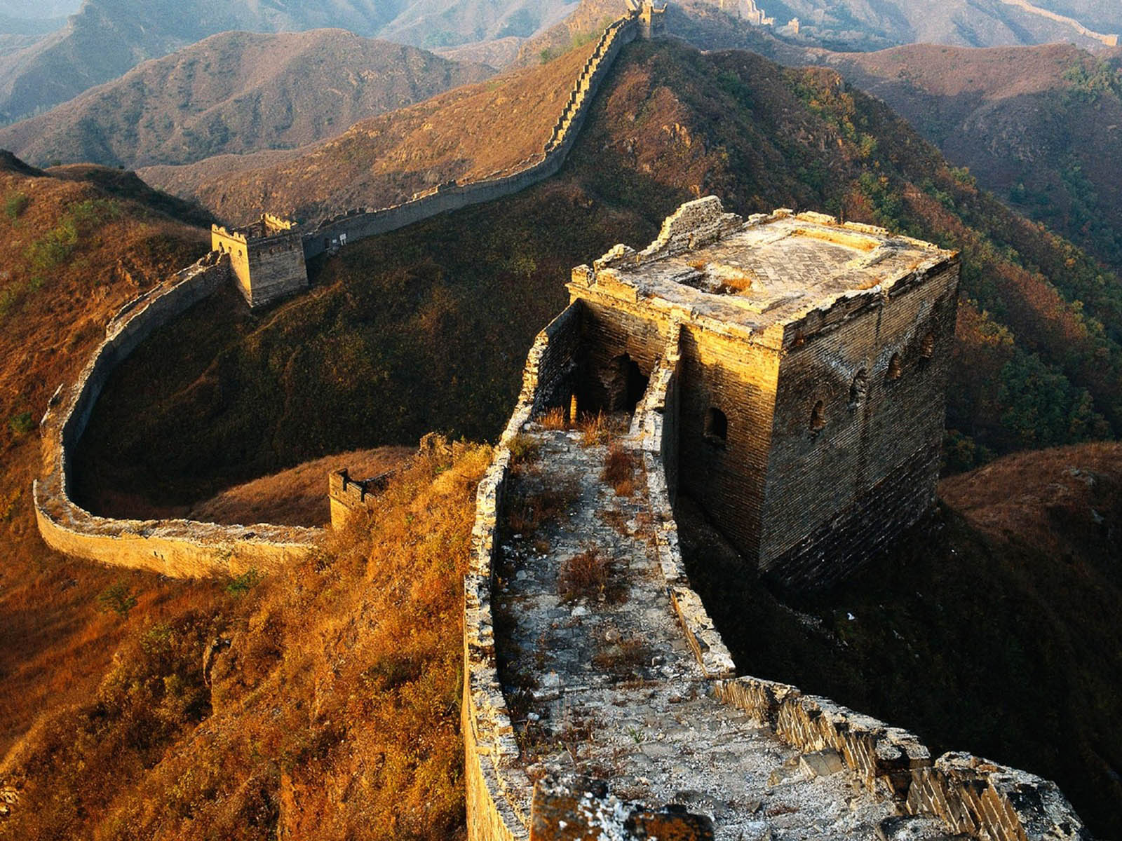 wallpapers Great Wall of China Wallpapers 1600x1200