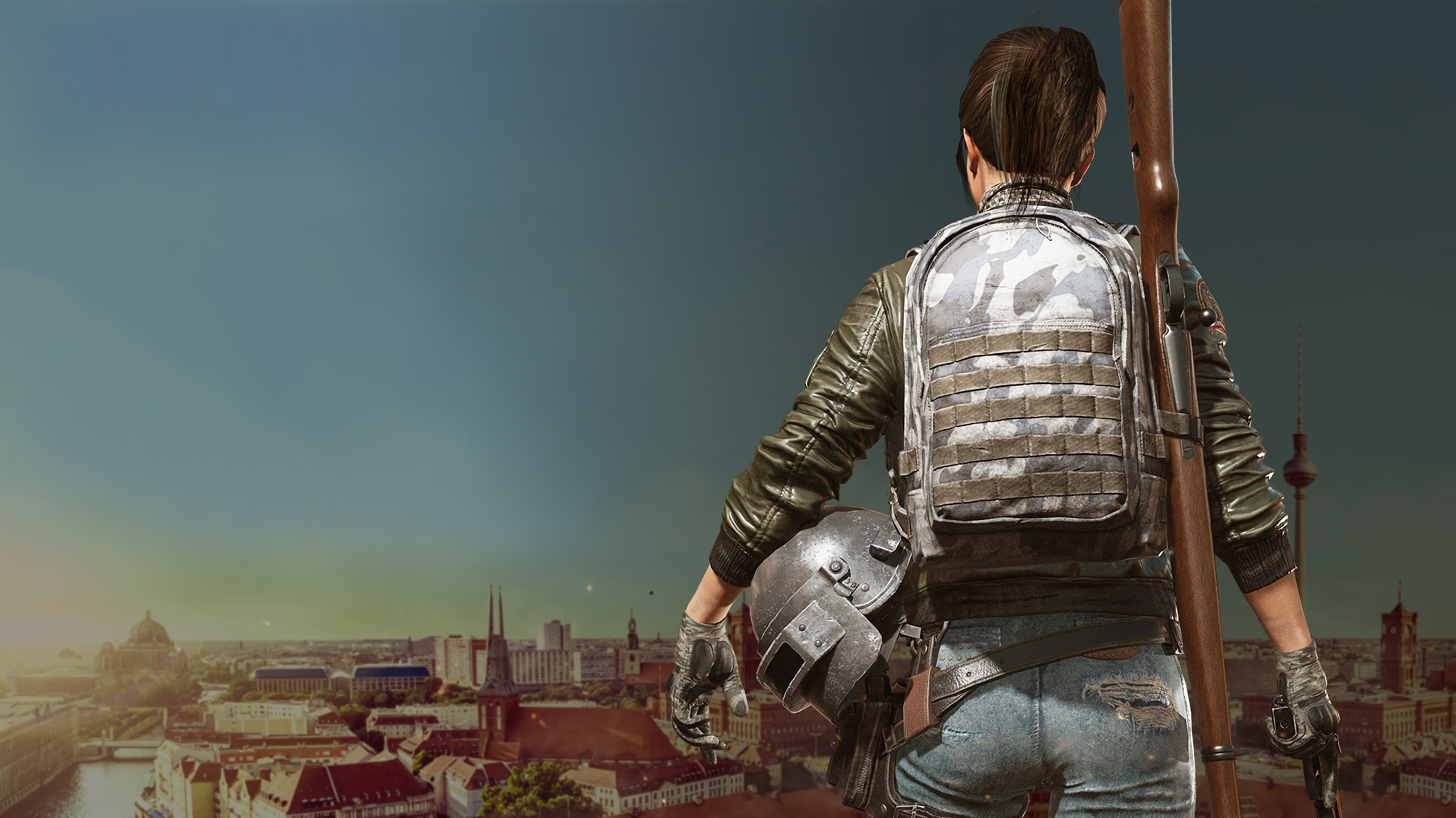 Game Girl Pubg 4k HD Games 4k Wallpapers Images Backgrounds 3840x2160
