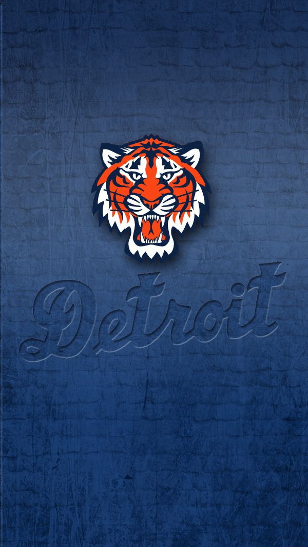 Detroit Tigers   iPhone 5 wallpaper by LicoriceJack 600x1065