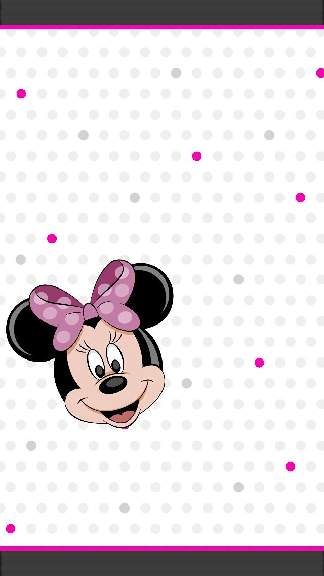 Free Minnie Mouse Bow Iphone Wallpaper