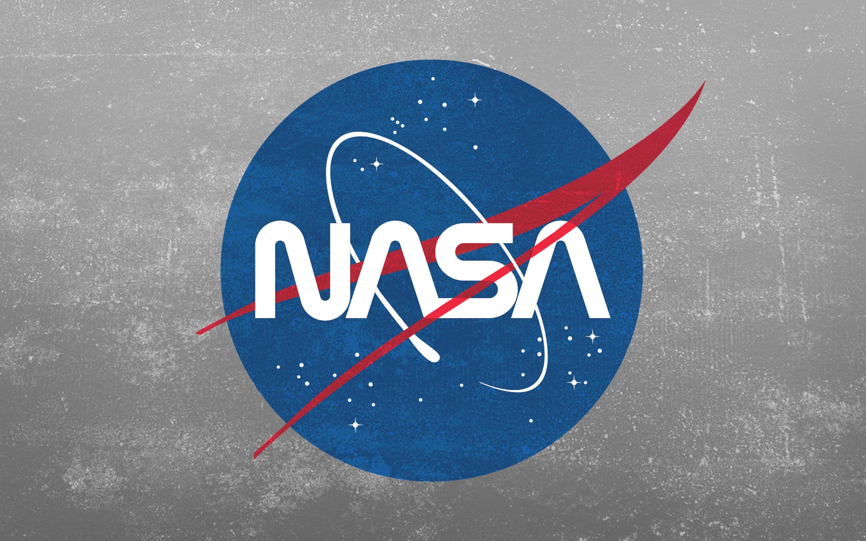 Grunge NASA Worm Logo Wallpaper [2880x1800] wallpapers 2880x1800
