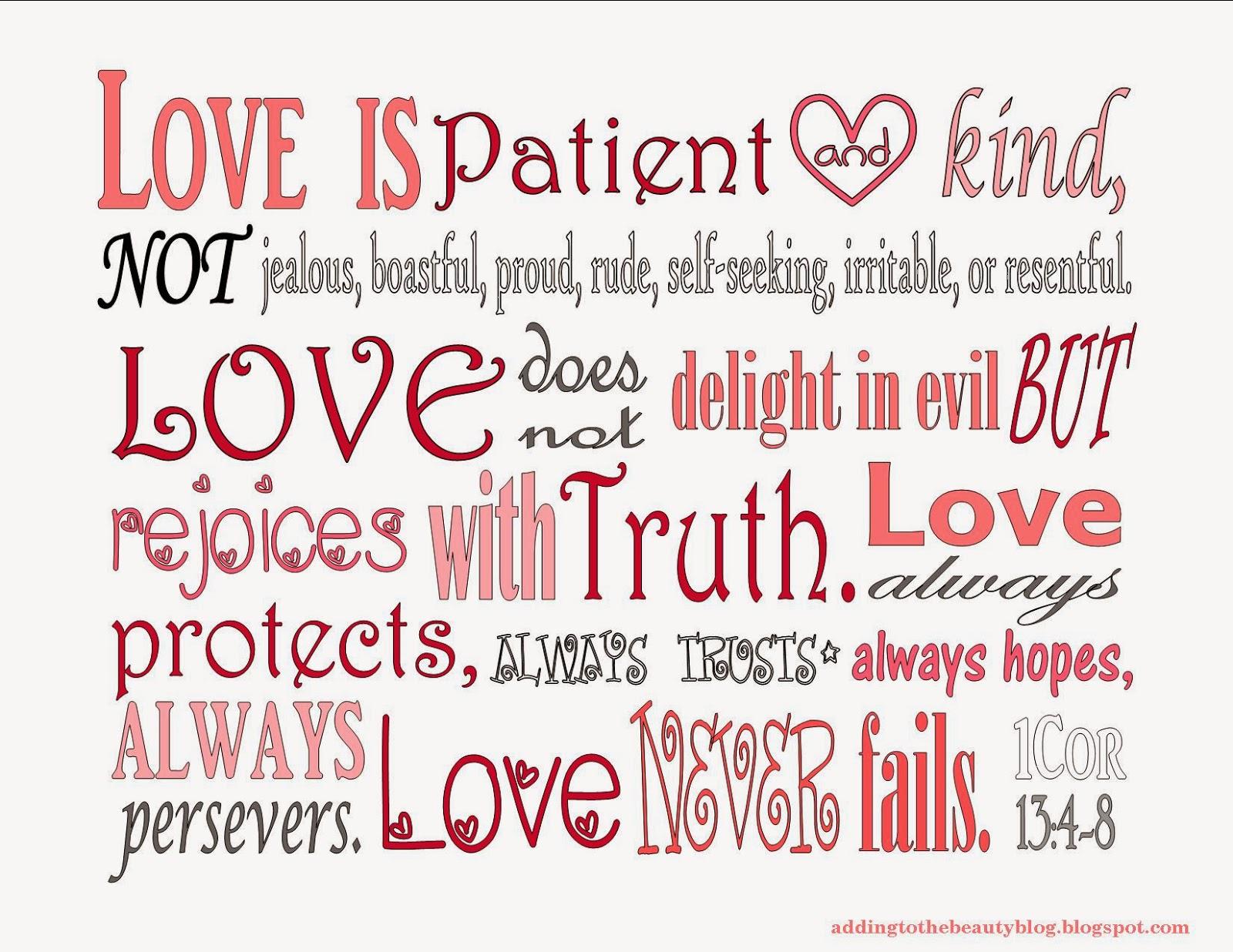 Love Is Patient Iphone Wallpaper : 1 corinthians 13 Wallpaper - WallpaperSafari