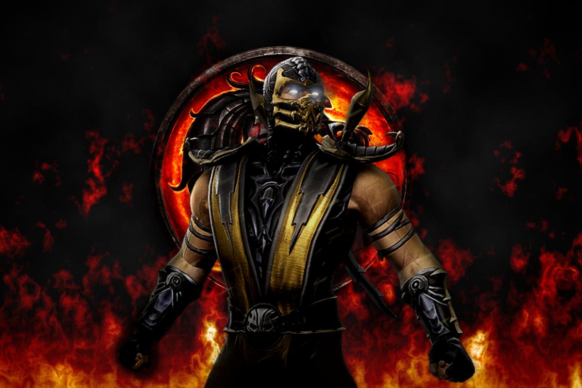 Mortal Kombat Scorpion Wallpapers 1200x800