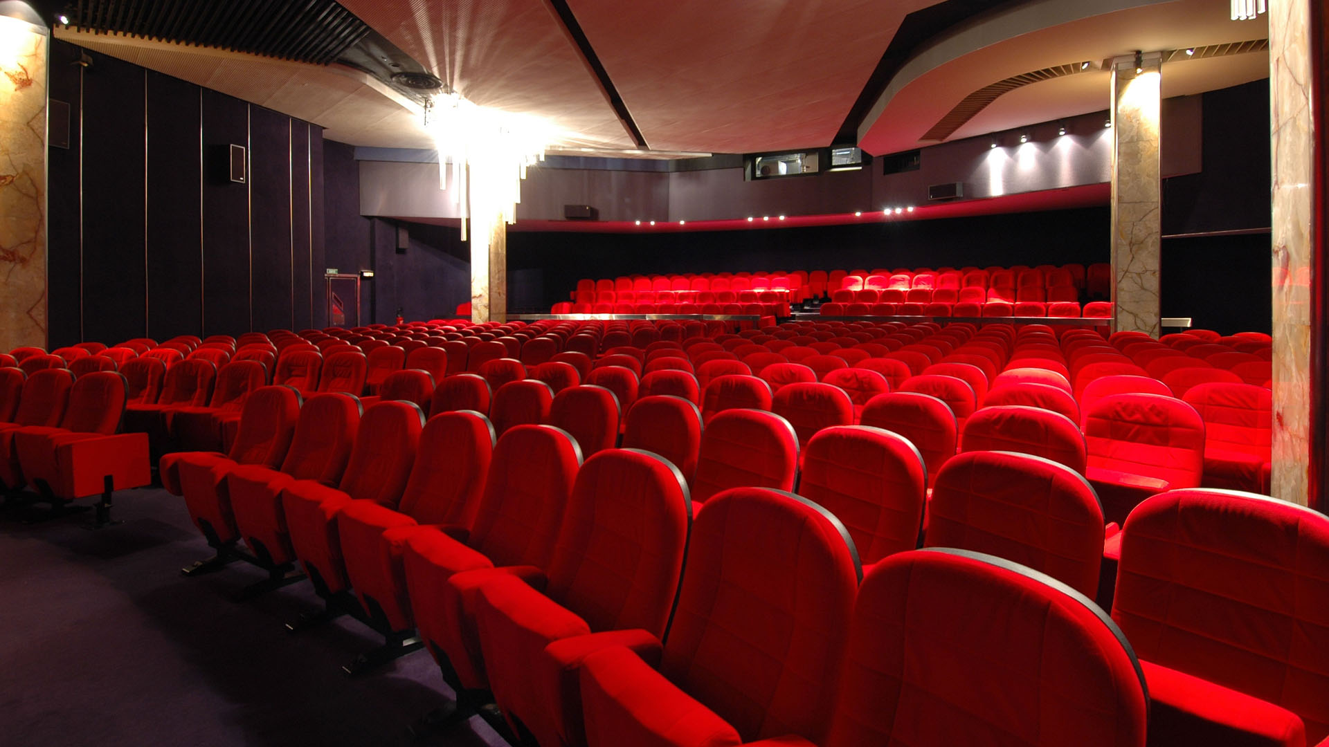Image Gallery movie theater wallpaper