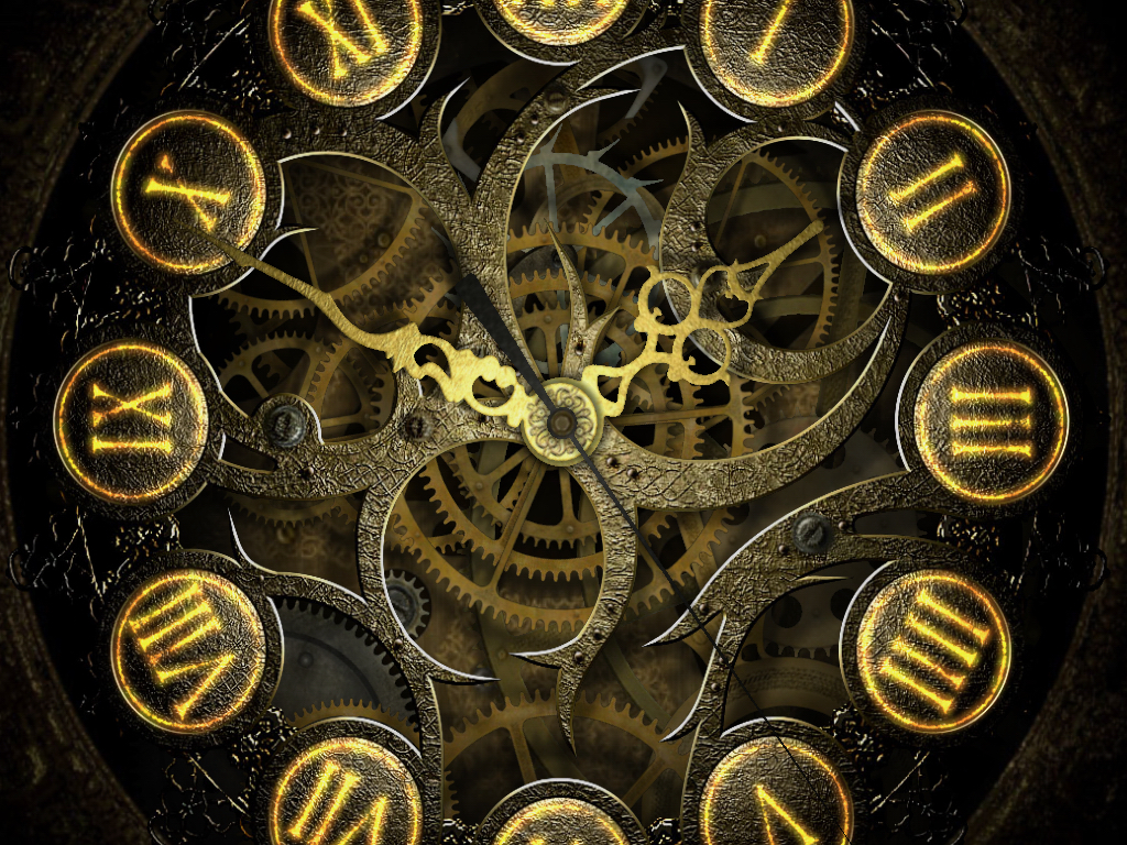 Clock Wallpaper Wallpapersafari