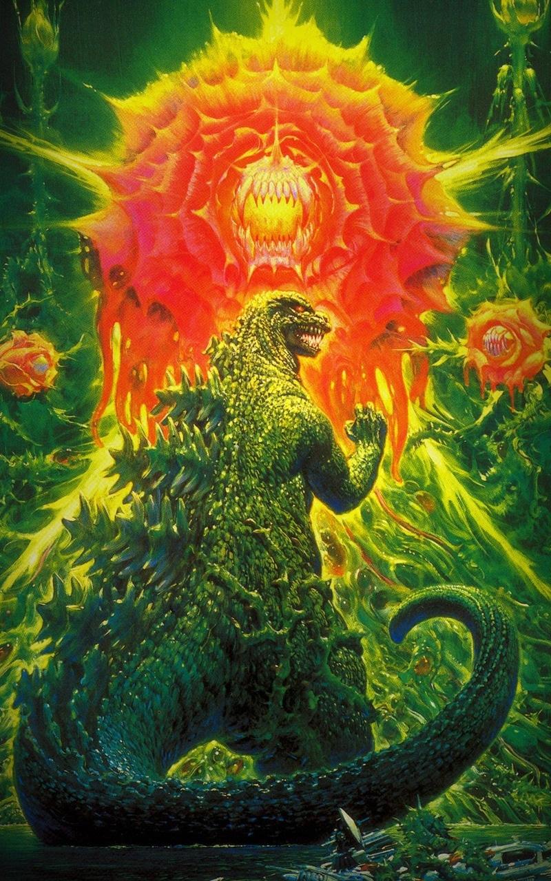 Godzilla Vs Biollante Mobile 800x1280