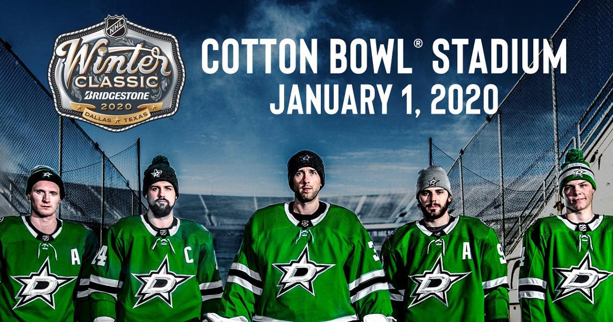 2020 Bridgestone NHL Winter Classic Dallas Texas Dallas Stars 1200x630