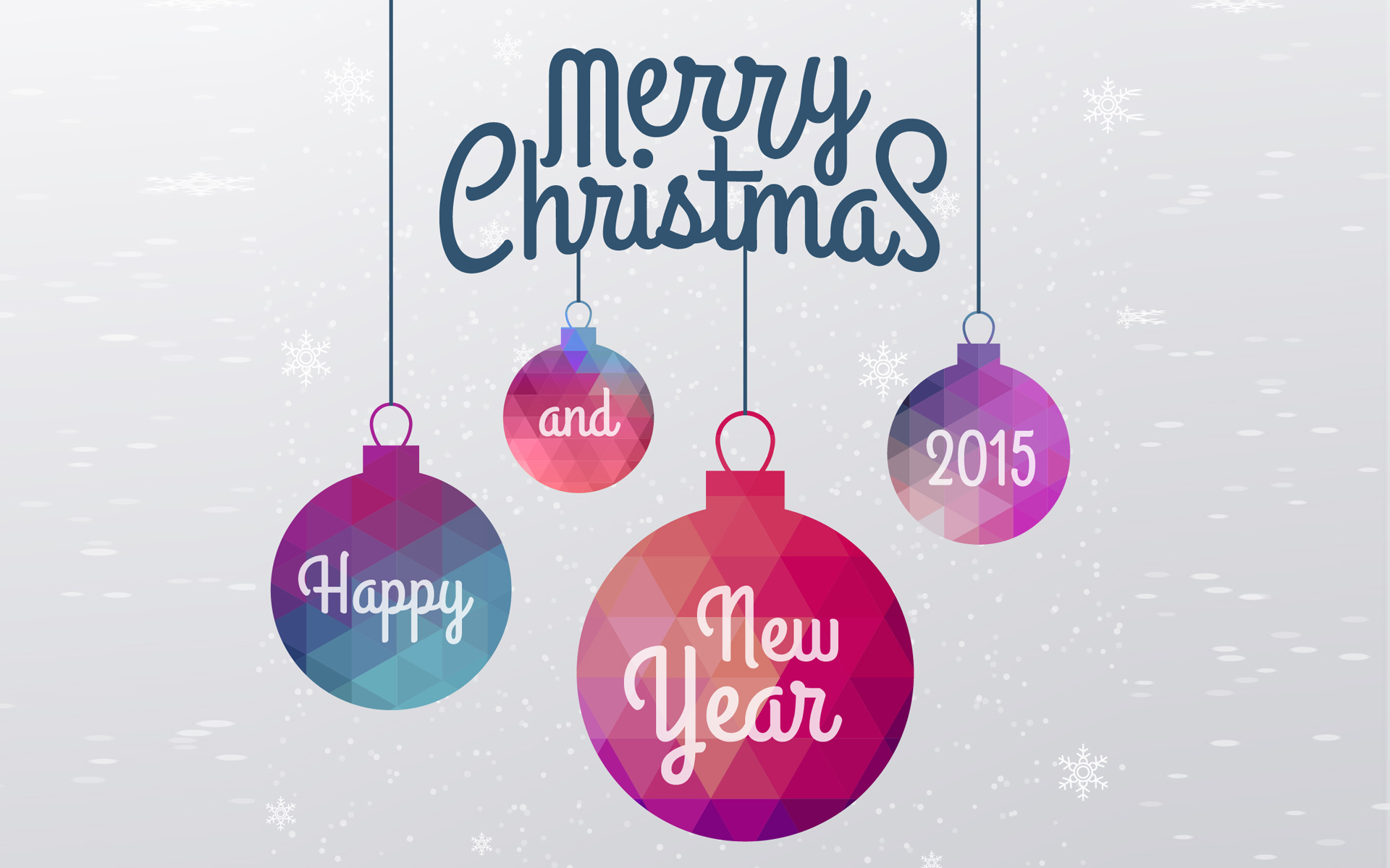 Christmas and New Year 2015 Desktop Wallpaper   HD Wallpapers 1920x1200