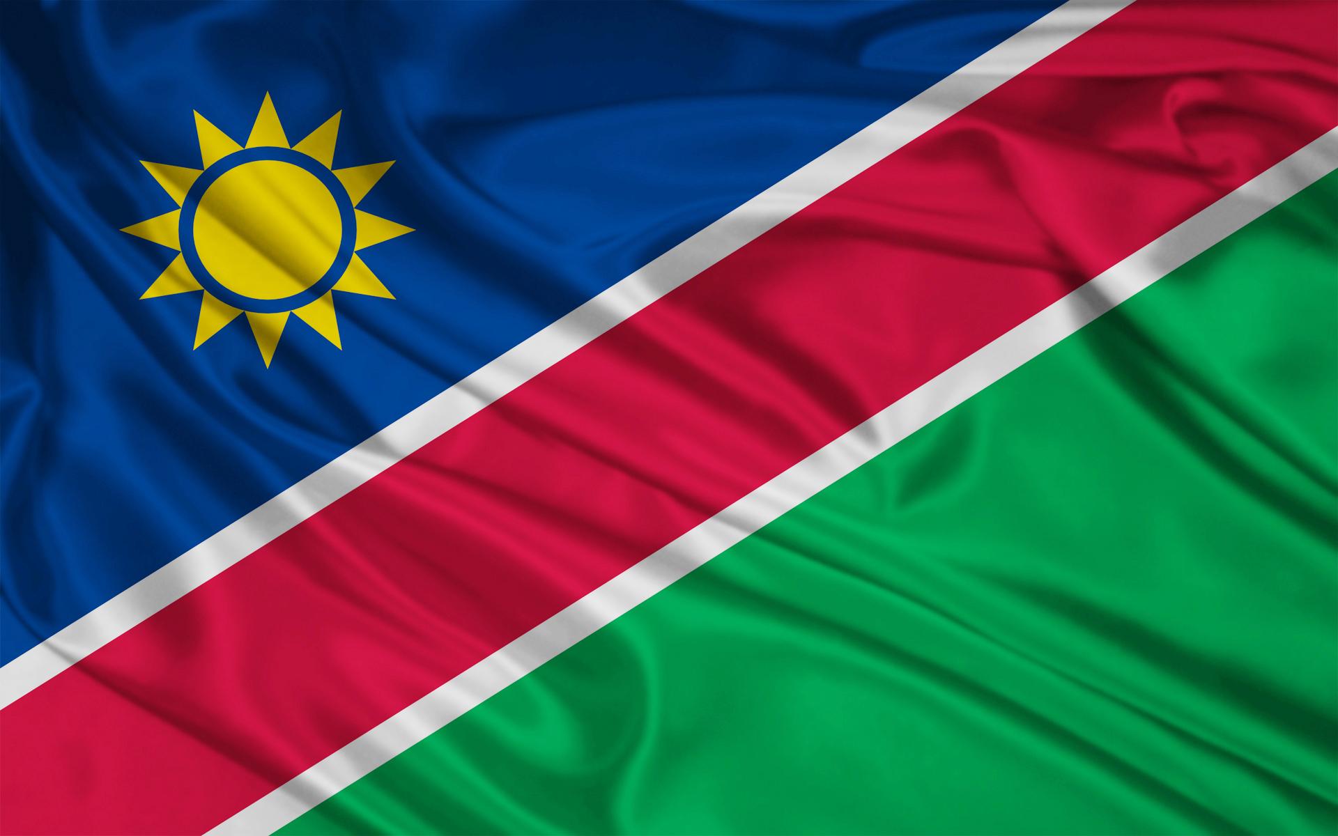 Namibia flag wallpapers Namibia flag stock photos 1920x1200