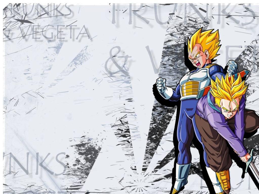 Vegeta Trunks   Dragon Ball Z Wallpaper 1024x768