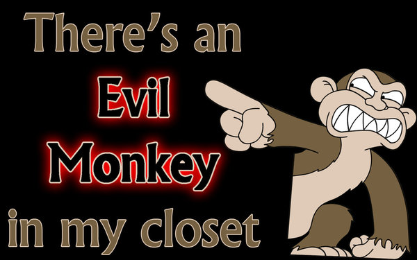 Evil Monkey Family Guy Desktop 600x375