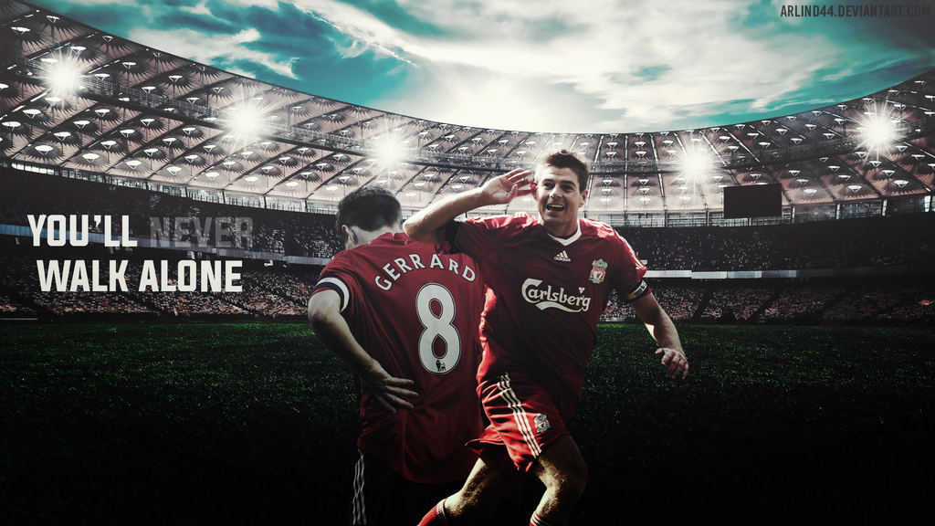 Steven Gerrard   Youll Never Walk Alone by Arlind44 on 1024x576