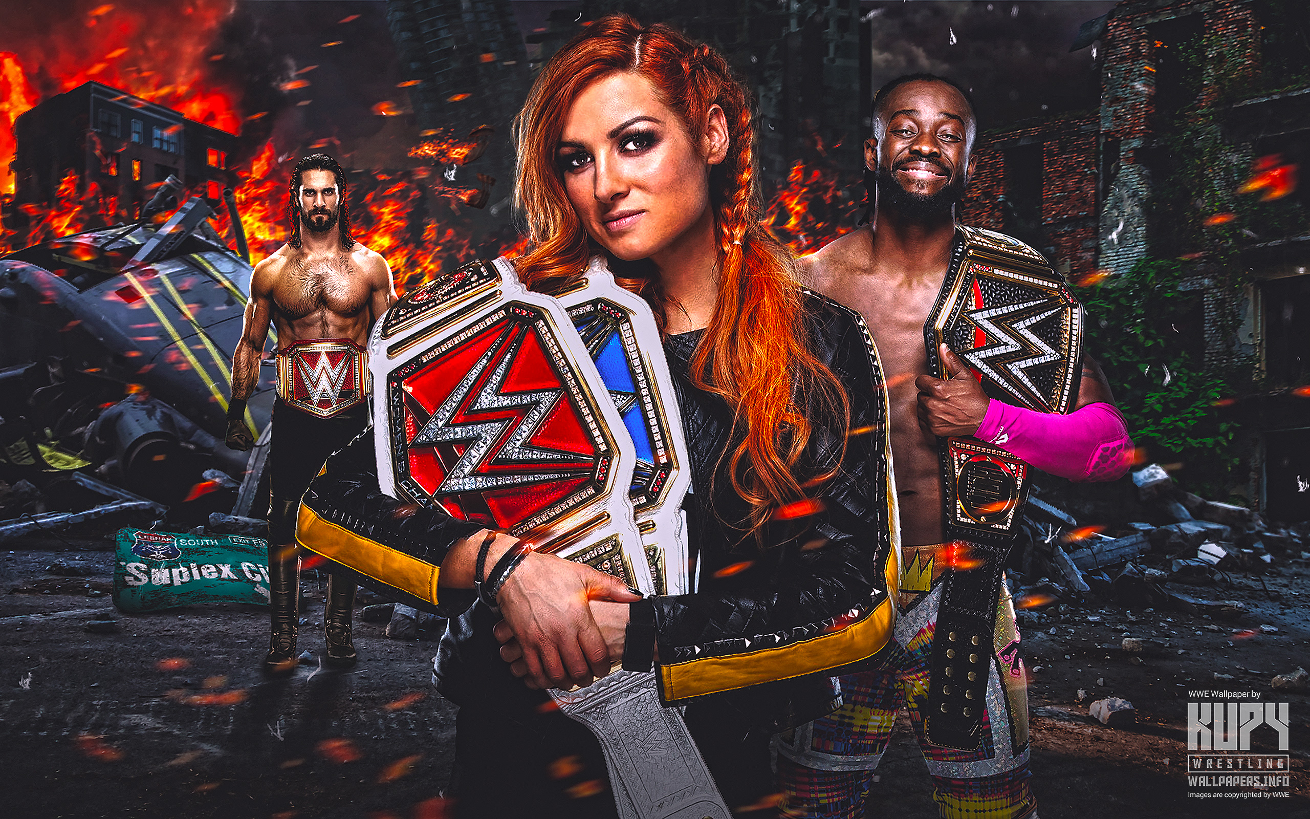 Kupy Wrestling Wallpapers The latest source for your WWE 2560x1600