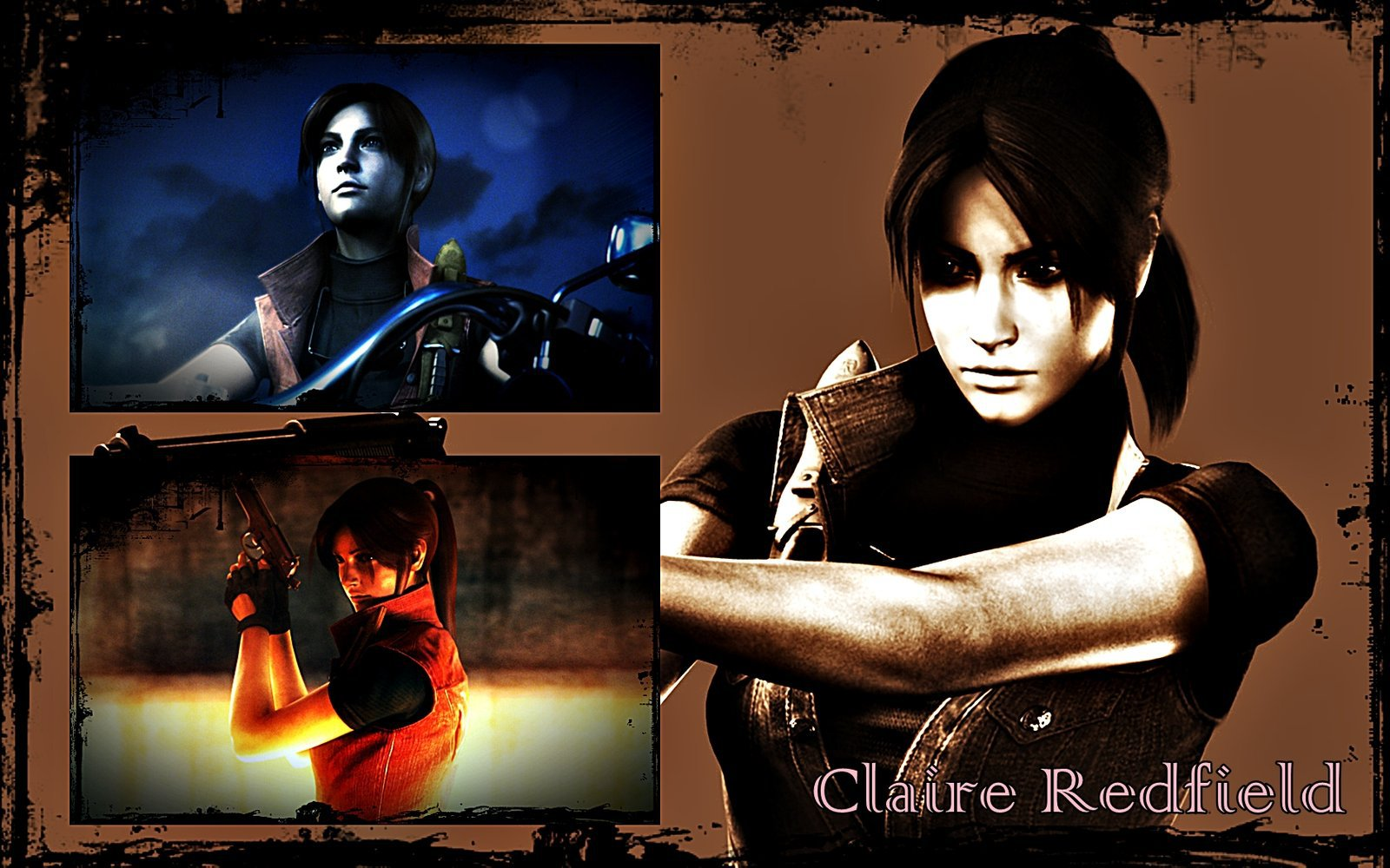 Claire Redfield Wallpaper by MaryInma 1600x1000