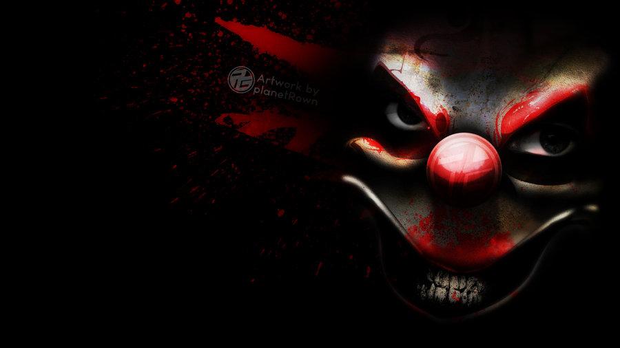 Creepy Clown Wallpaper