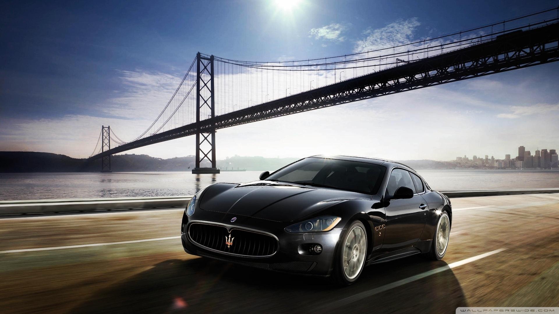 Maserati GranTurismo 4K HD Desktop Wallpaper for 4K Ultra HD TV 1920x1080