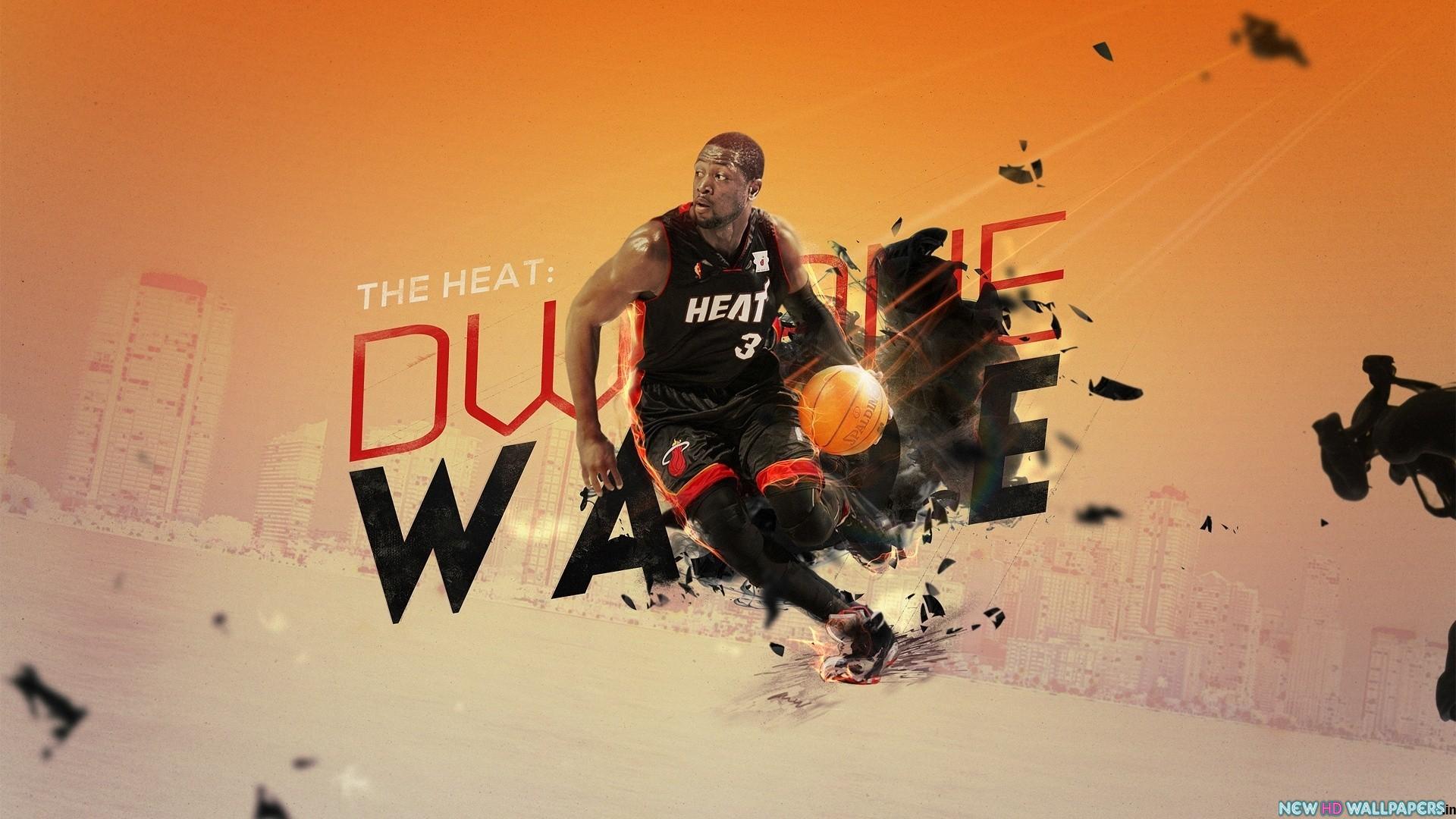 Dwyane Tyrone Wade Fuballer kostenlose Desktop HD wallpaper 1920x1080