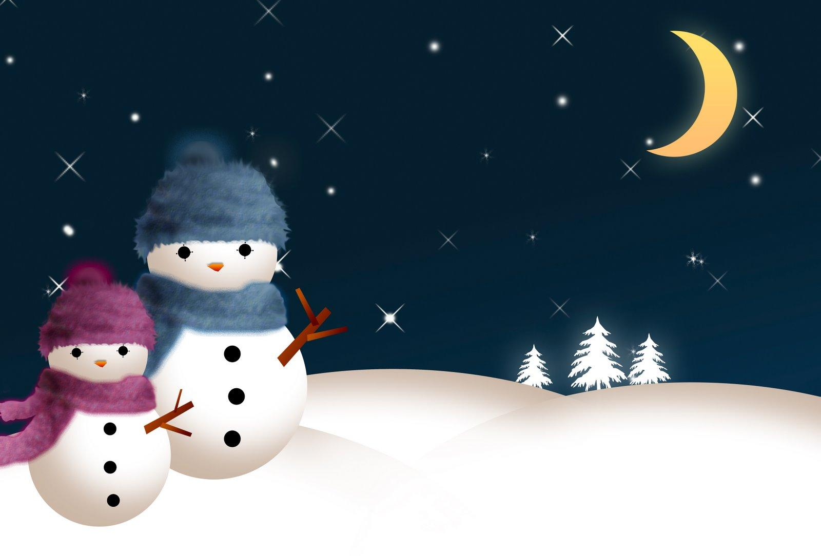 Snowman Background wallpapers WIN10 THEMES 1600x1084