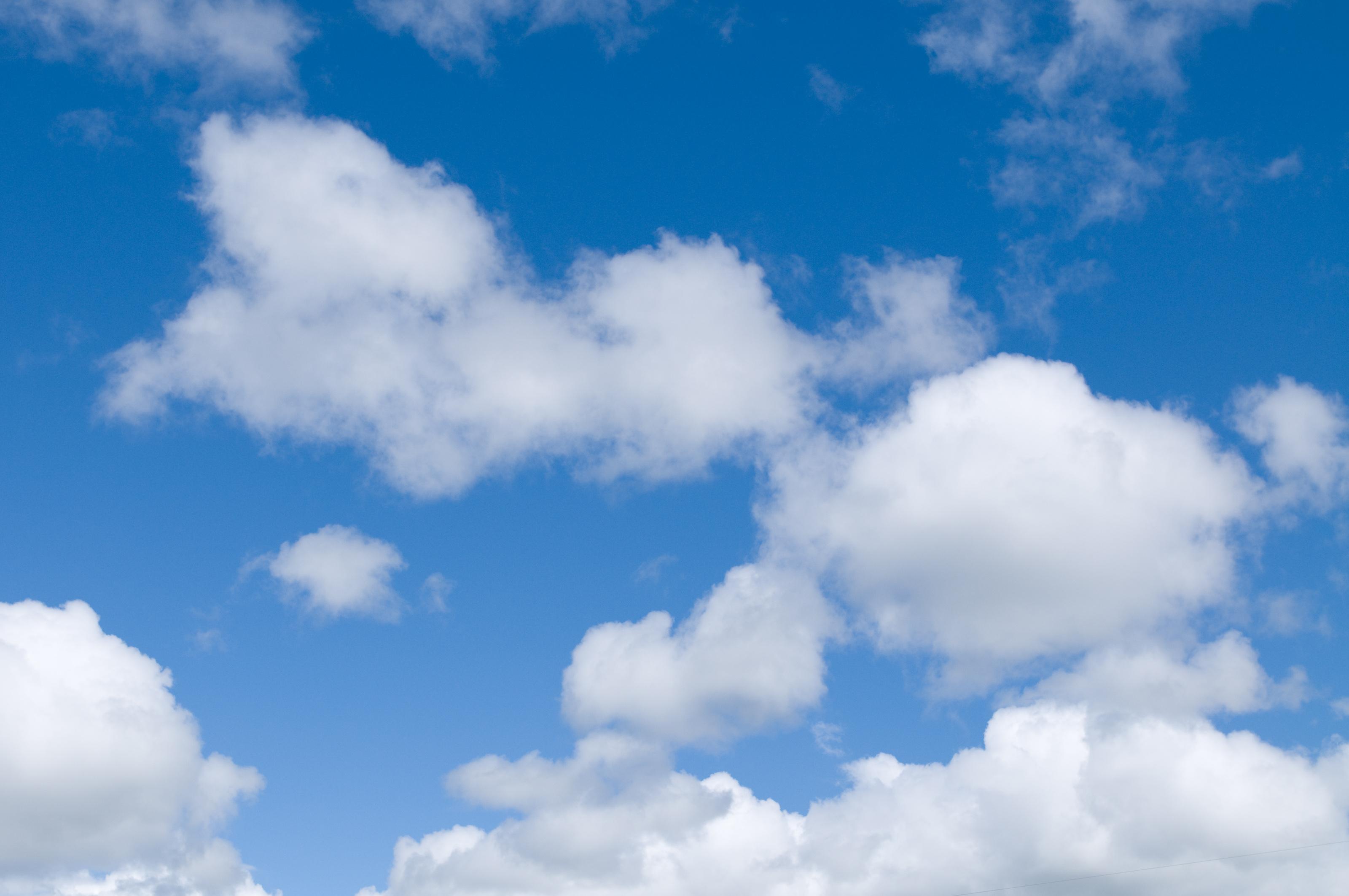 Cloud Blue Sky Clouds Background 3200x2125