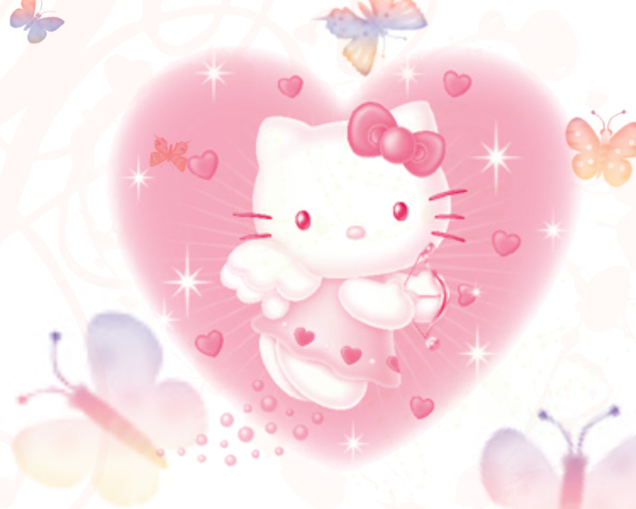Hello Kitty Wallpapers 1280x1024