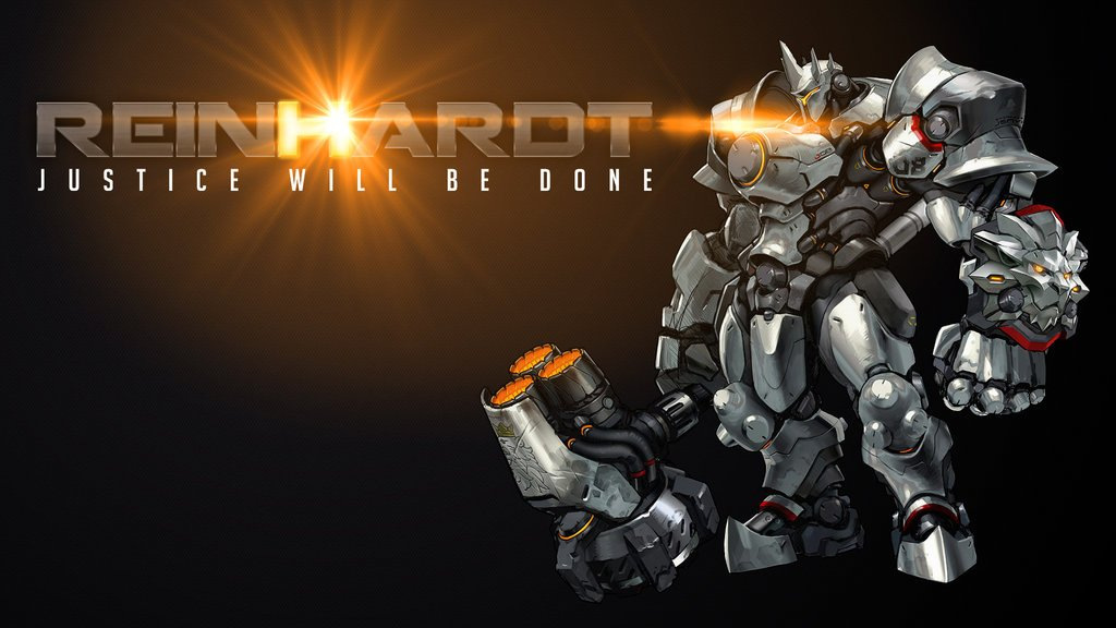 Overwatch reinhardt wallpaper wallpapersafari - Overwatch christmas wallpaper ...