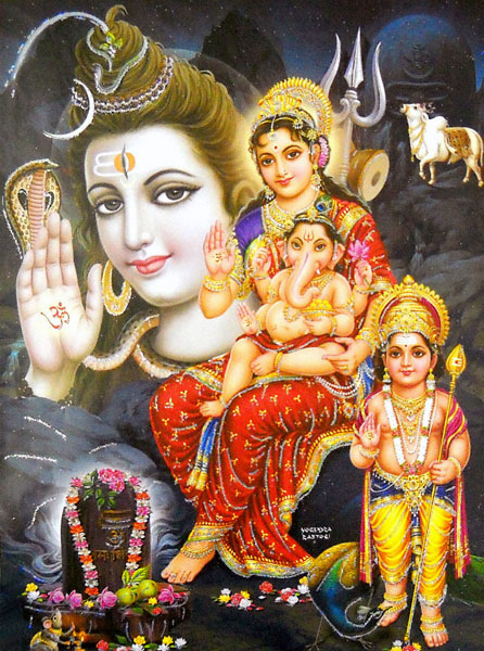 Lord Shiva Family Wallpapers lord shiva family wallpapers high 446x600