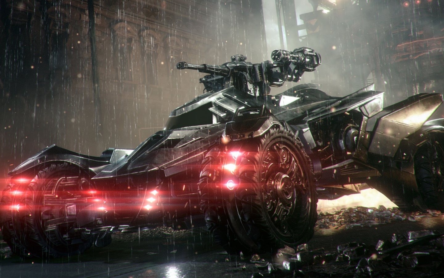 Batmobile in Arkham Knight Wallpapers HD Wallpapers 1440x900
