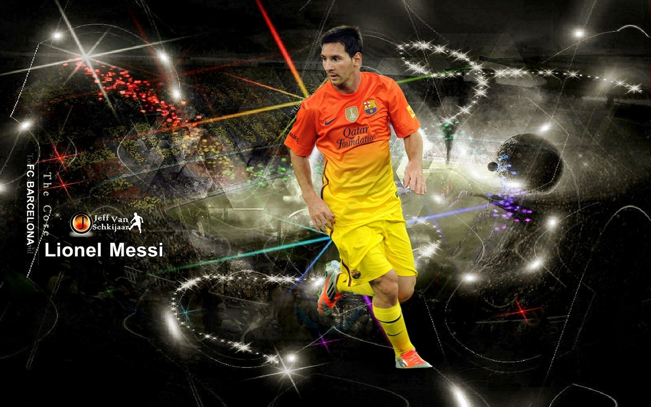 Attitude Girl: Lionel Messi Wallpapers 5