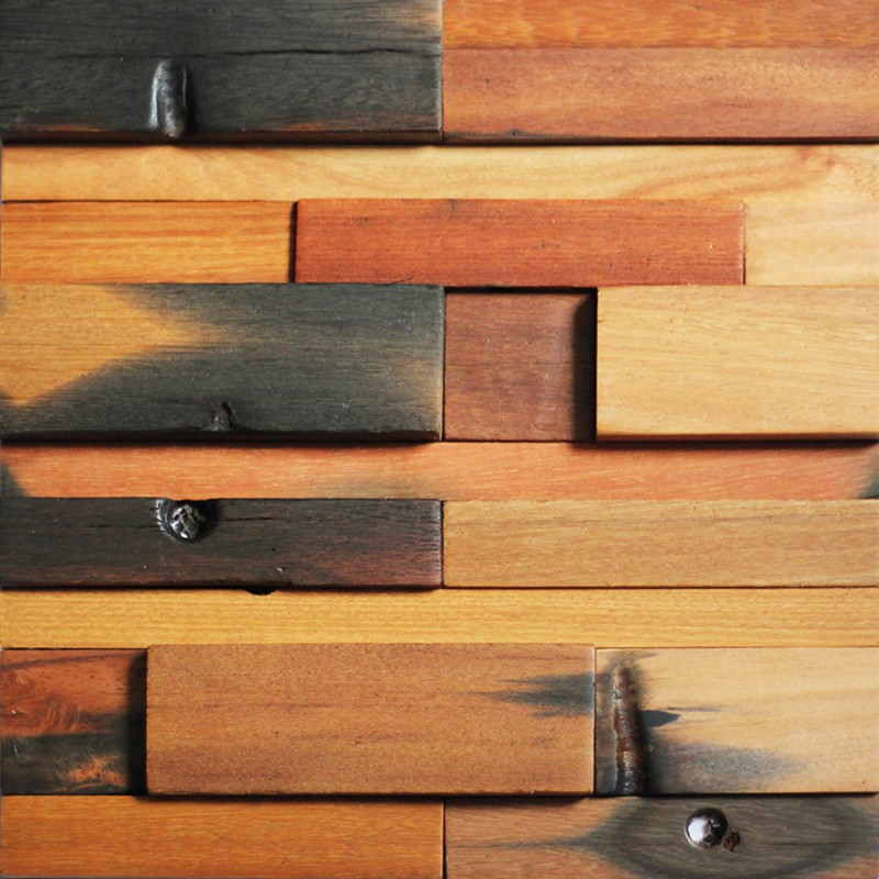Wood Wall Panels Reclaimed Wood Tiles A15001 Reclaimed Wood 800x800
